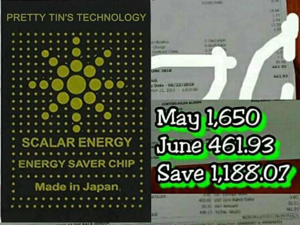 SCALAR ENERGY SAVER STICKER LOWER ELECTRIC BILL on Carousell