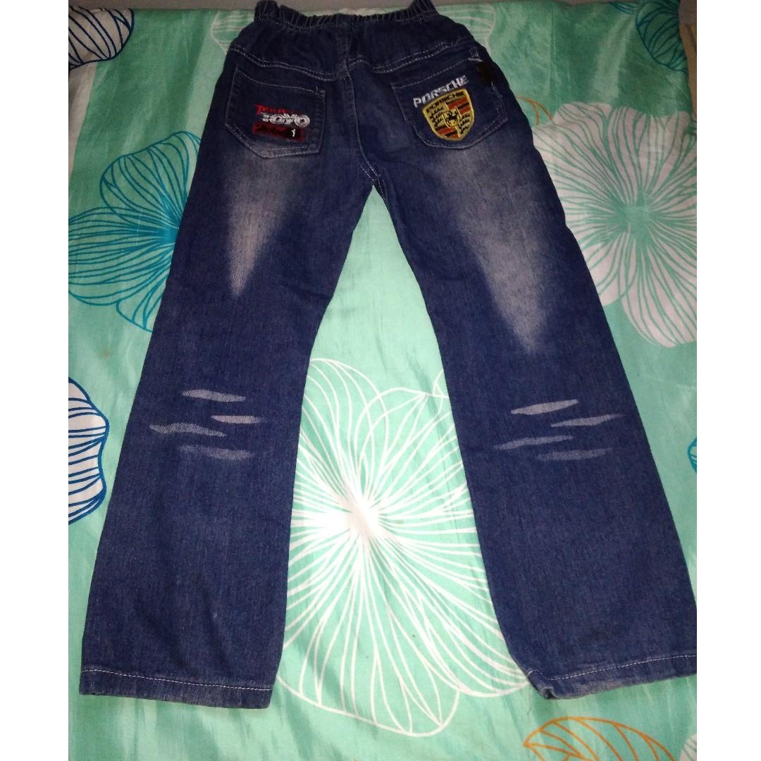 d47620c727837f Seluar Jeans Kids Porsche Nzon Junior