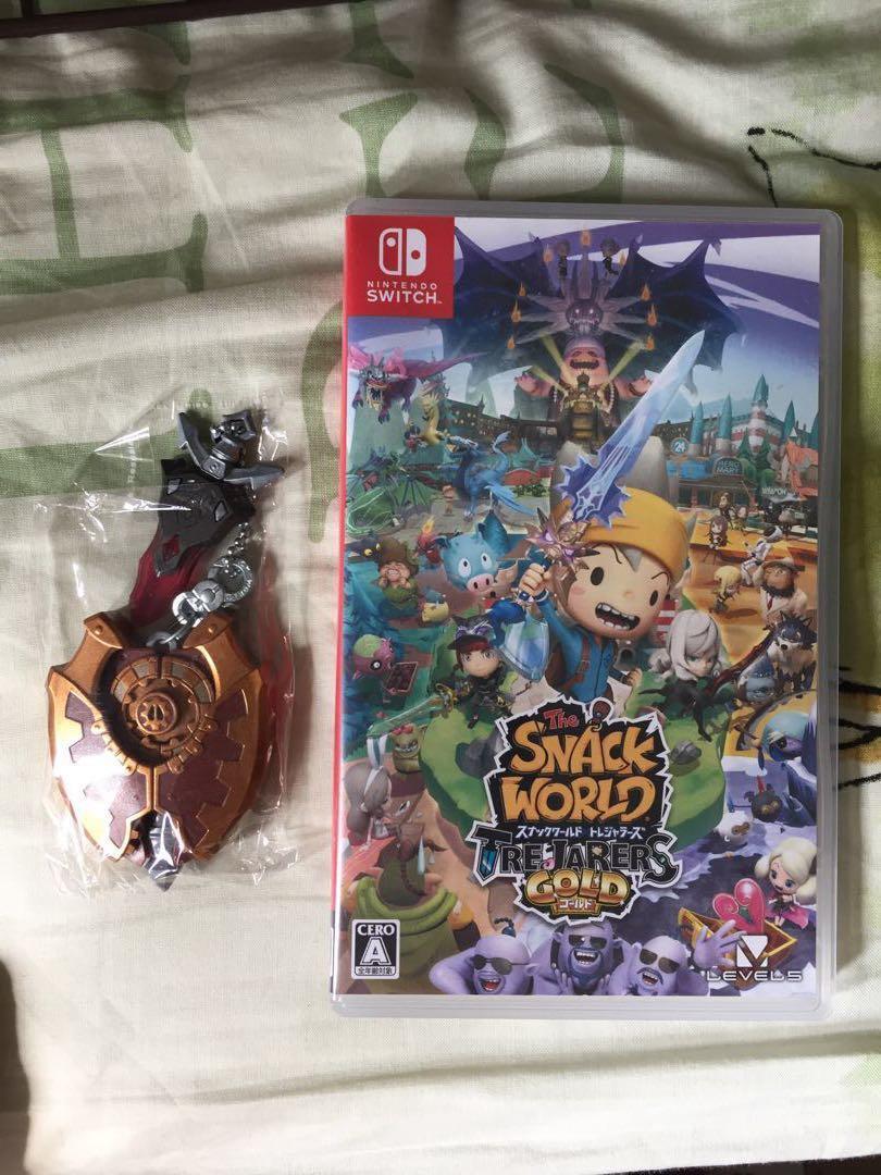Switch~The snack world連武器