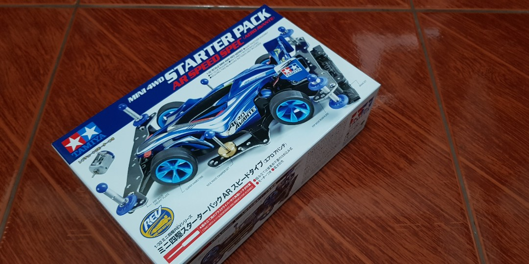 Home · Tamiya Mini 4wd Starter Pack Ar Speed Spec Aero Avante; Page - 4. Share This Listing