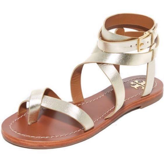 4c6a5f3c79c91 Tory Burch Gladiator Sandals 36