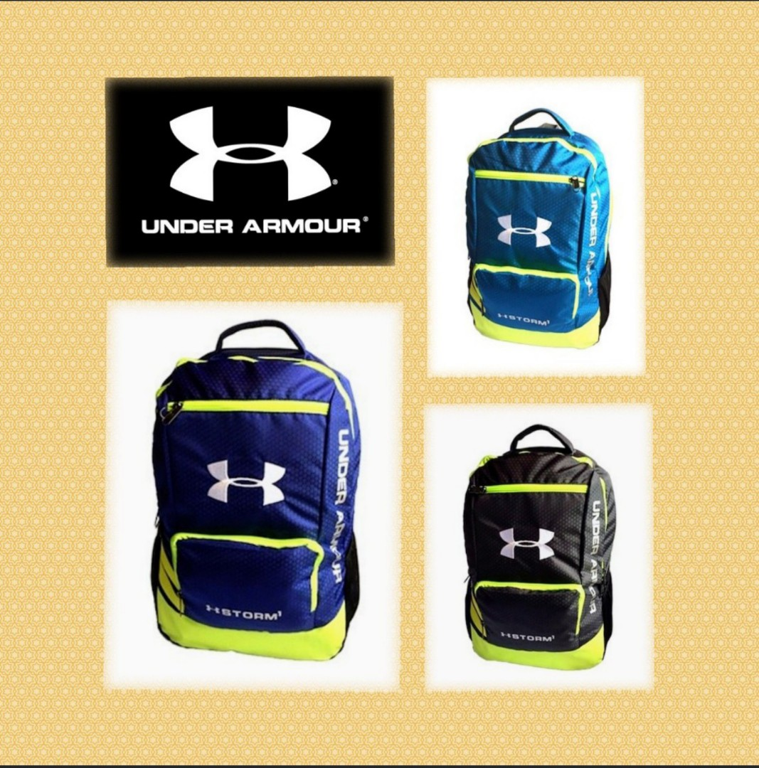 5e04ca45ca Ready stock- 60) Under Armour Storm gym   travel  school backpack ...