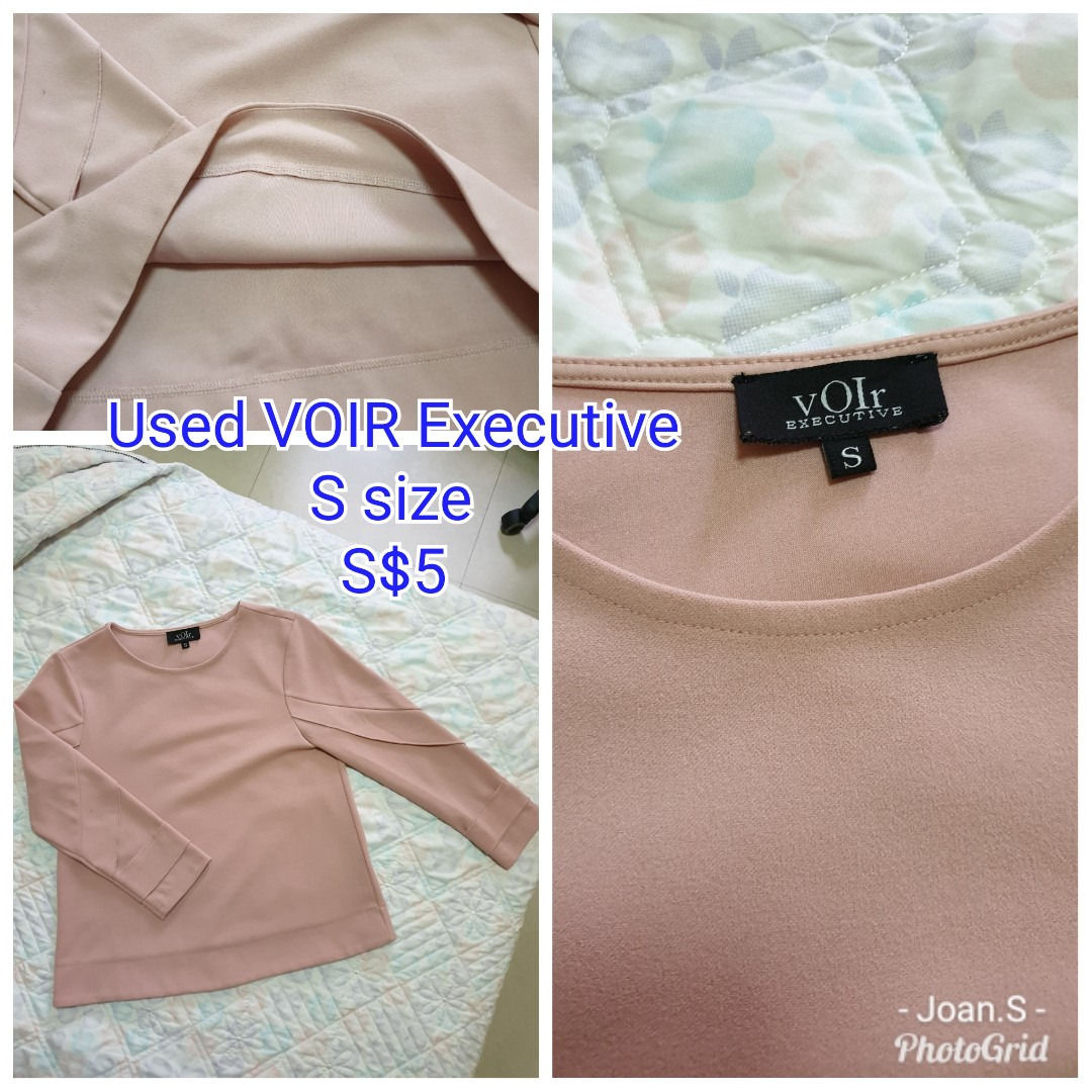 cf54b40f512 Used Voir Executive Blouse