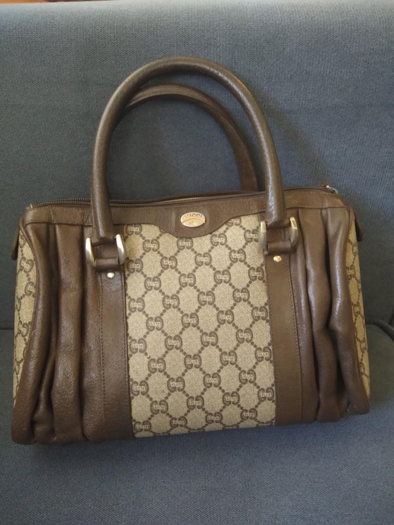 Vintage Gucci boston bag repriced! 942b0629ca10b