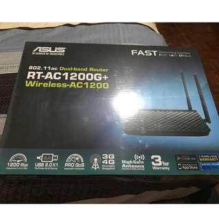 Brand New Asus RT-AC1200G+ for sale - Sealed