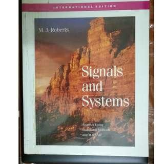 Signals and Systems [M. J. Roberts]