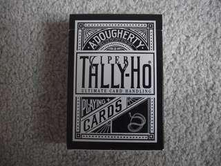 Tally-Ho 啤牌 - Viper Fan Back playing cards