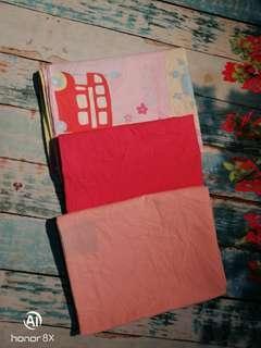 3 pcs pillow case bundle