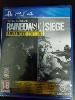 PS4 Tom Clancy's Rainbow Six Siege Advanced Edition (New)