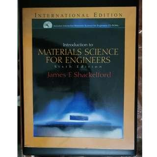 Introduction to Material Science for Engineers [James F. Shackelford] with CD