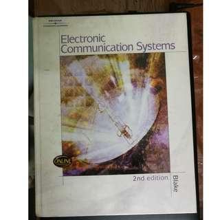 Electronic Communication Systems [Blake]