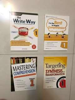Primary 1 English Assessment Books
