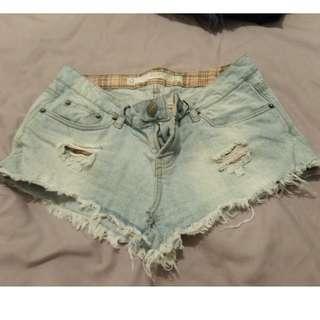 Denim Shorts Sz 10