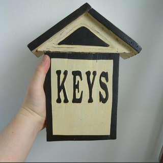 Hand Crafted Wooden Key Box