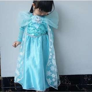 Queen elsa party dress
