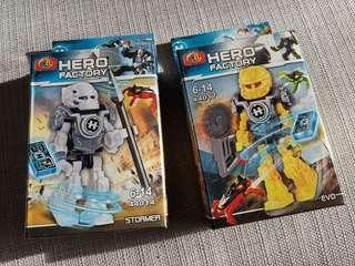🚚 Hero Factory toys figure for sales