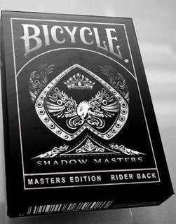 Bicycle 啤牌 - Shadow Masters Masters Edition playing cards