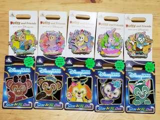 迪士尼徽章 Disney pin pins