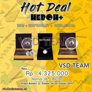 Hot Deal Heboh + MCI