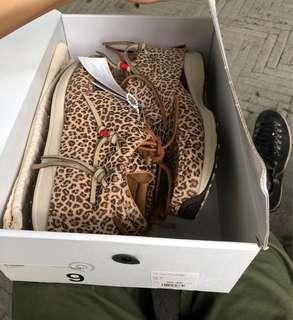 visvim FBT leopard F.I.L. exclusive FIL ICT 流蘇鞋 moccasin