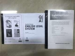 A Level (English Legal System, Torts Law, Contract Law)