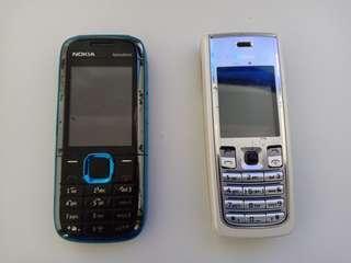 [SALE - NO NEGO] Nokia 5130 express music + Nokia 2865