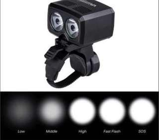 Vastfire 5000Lumens 2X T6 LED bicycle scooter light USB rechargeable