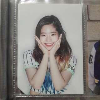 🚚 twice page two dahyun flower pc