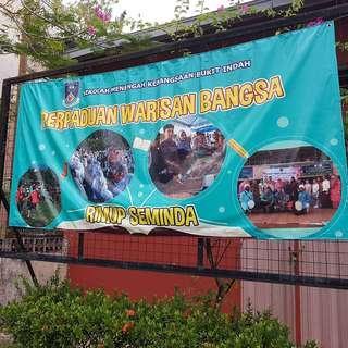 Print Banner Sekolah