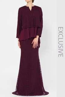 (FREE POSTAGE) Alia bastamam x Fashion Valet Kurung Kedah with Full Mandala