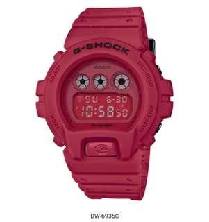 G-shock 35th anniversary RED-OUT