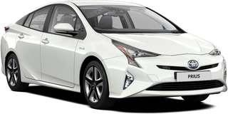 Brand New Toyota Prius Hybrid for Rent / Lease