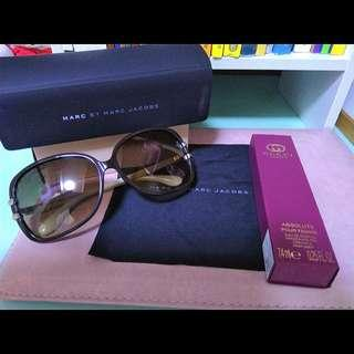 Marc By Marc Jacobs MMJ 236/F/S designer sunglasses+free gift Gucci guilty absolute parfum