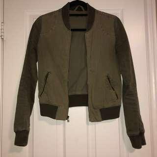 Talula Olive Jacket XXS