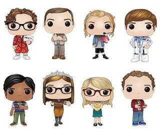 Funko Pop Big Bang Theory