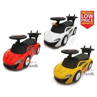 Toddler Baby Walker Ride On / Push Car With Music and Lightning
