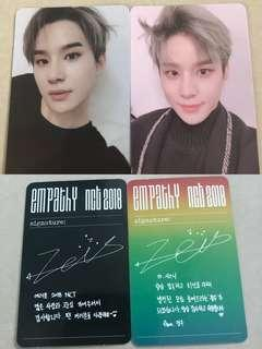 [WTS] NCT Jungwoo EMPATHY Official Photocards