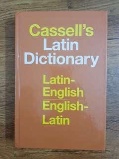 🚚 Cassell's Latin Bilingual Dictionary