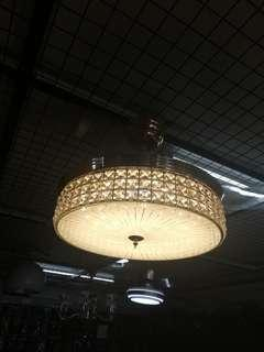 Chandelier Retractable Fan with Remote control