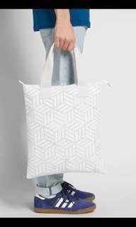 Limited Edition Adidasx3D Shopper Tote Bag in White