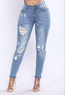 Fashion Nova - Before Sun Down Jeans - NEW