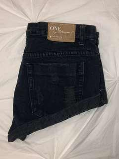 ONE TEASPOON BANDITS | Sz 28 | Black