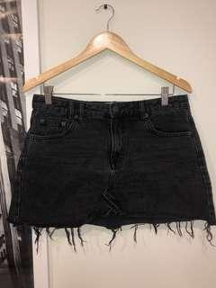 INSIGHT BLACK DENIM SKIRT | Sz 10