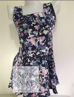 Mini floral skirt/dress