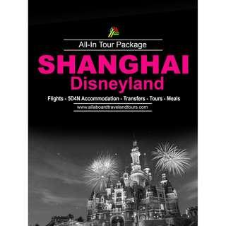 Shanghai with Disneyland All-In Tour