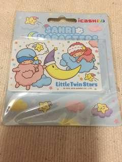 台灣 Little Twin Stars 悠遊卡 icash2.0 $45 包郵