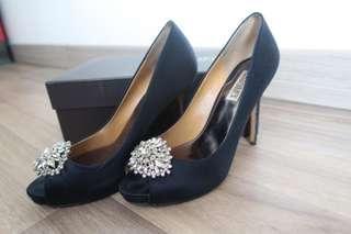 VGC Badgley mischka heels size 8 (db and box)