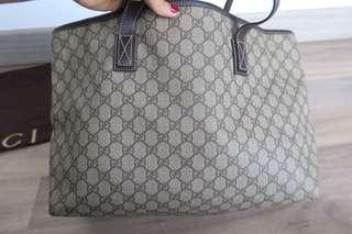 Gucci tote with dustbag only