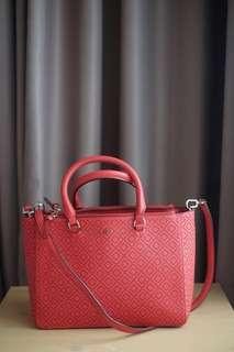 Preloved VGC tory burch bag tahun 2016 (bag and strap only)