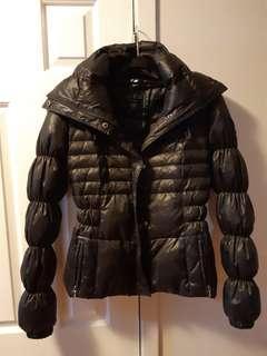 Guess black xs coat